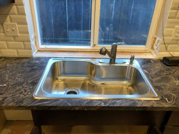 Kitchen Sink Installation